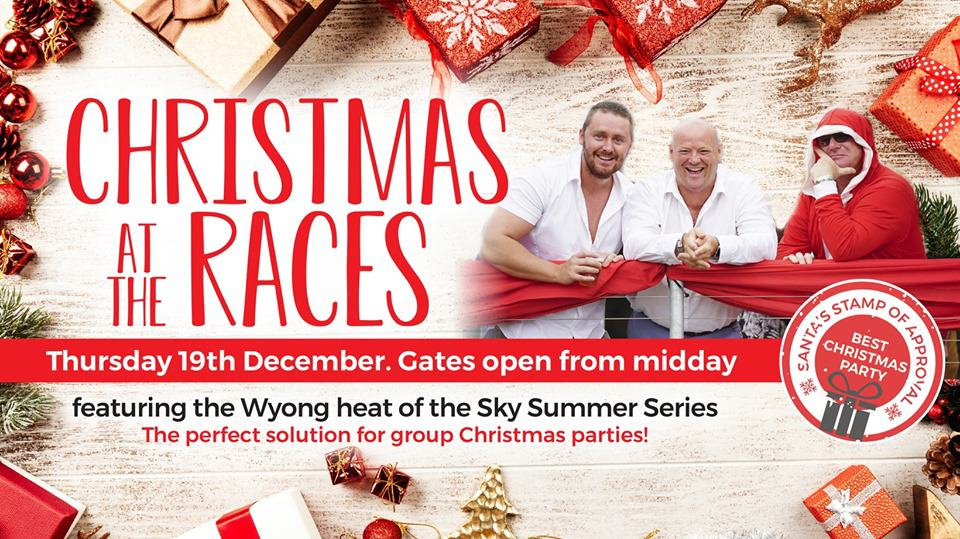 Christmas Party Wyong Races 19th December 19