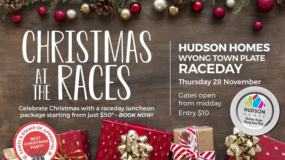 Christmas Party Wyong Races 28th November 19