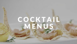 cocktail menus