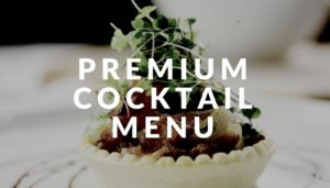 premium cocktail menu