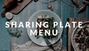 sharing plate menu