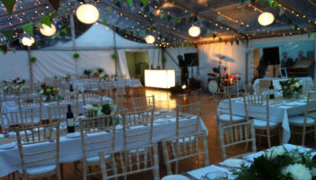 Private Estate Marquee Wedding