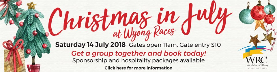 Christmas in July Wyong Race Club
