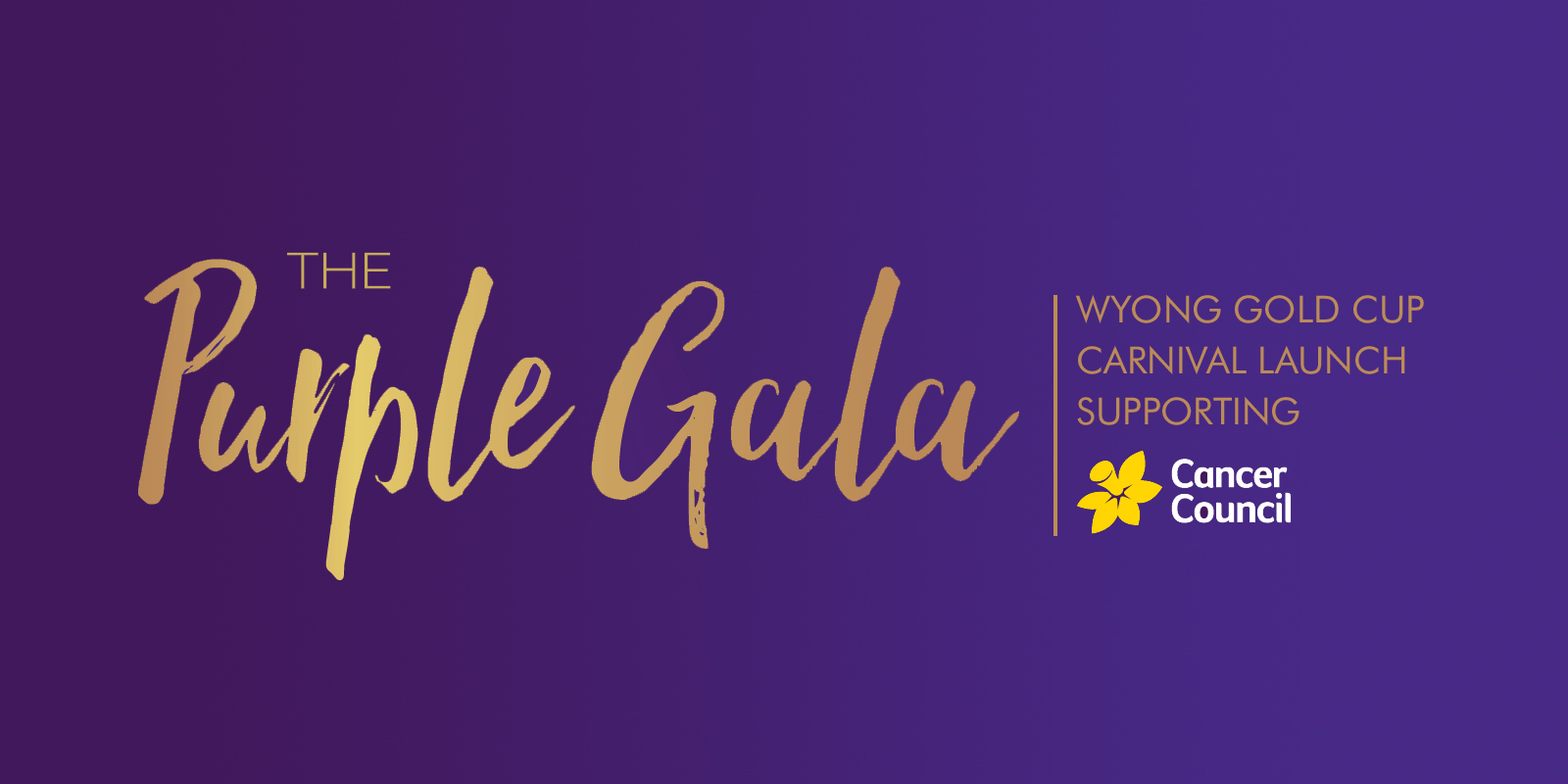 "Stars of the Central Coast Fundraiser ""The Purple Gala"""